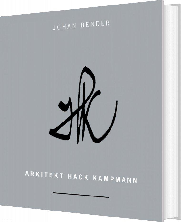 Image of   Arkitekt Hack Kampmann - Johan Bender - Bog