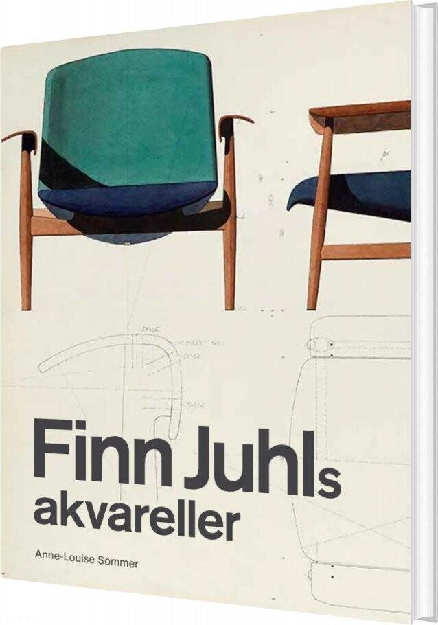 Billede af Finn Juhls Akvareller - Anne-louise Sommer - Bog