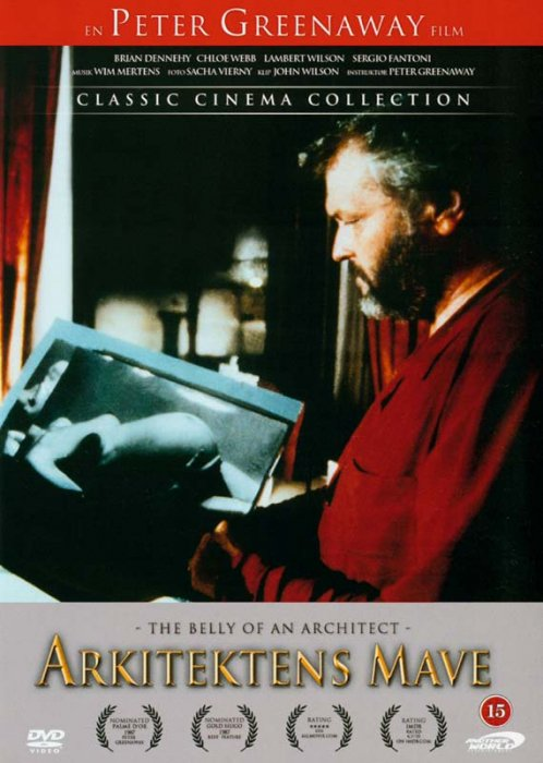 Billede af Arkitektens Mave / The Belly Of An Architect - DVD - Film