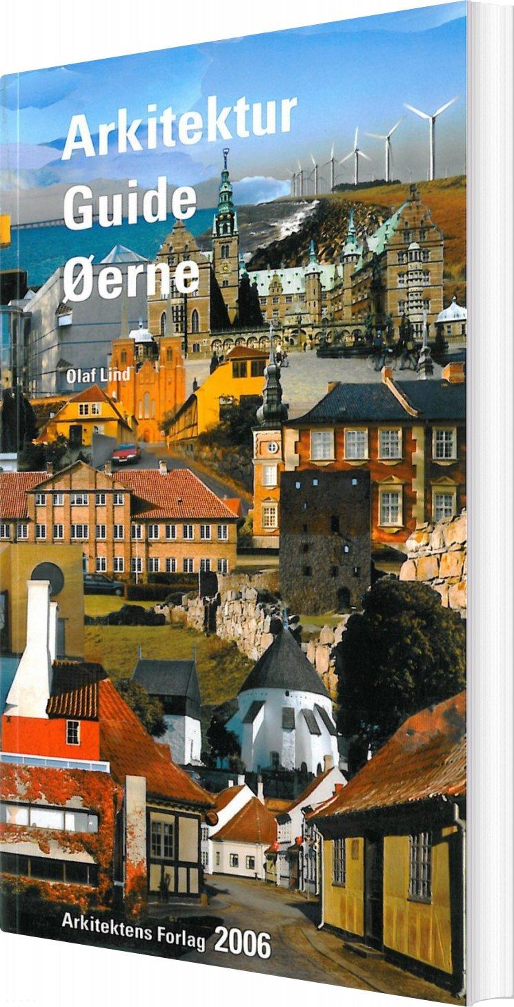 Image of   Arkitektur Guide øerne - Olaf Lind - Bog