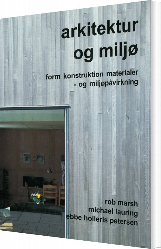 Image of   Arkitektur Og Miljø - Rob March - Bog