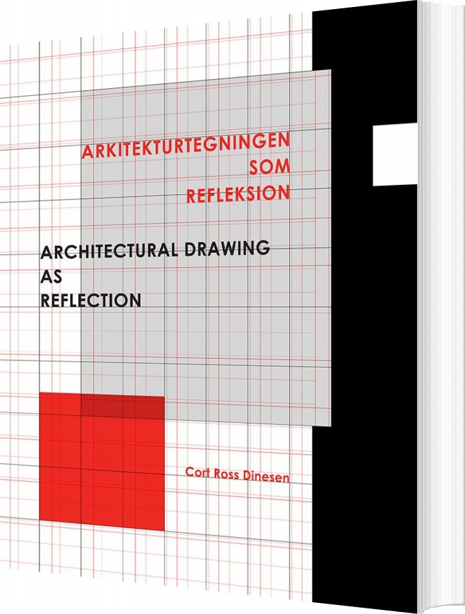 Image of   Arkitekturtegningen Som Refleksion - Cort Ross Dinesen - Bog