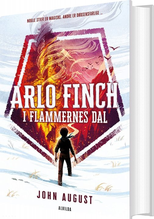 Billede af Arlo Finch I Flammernes Dal - 1 - John August - Bog