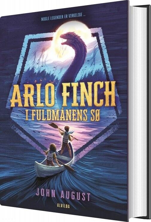 Image of   Arlo Finch I Fuldmånens Sø 2 - John August - Bog