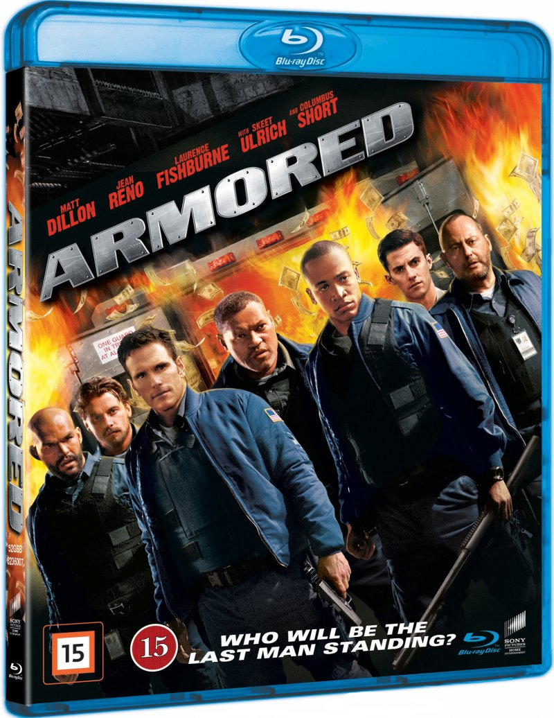 Image of   Armored - Blu-Ray