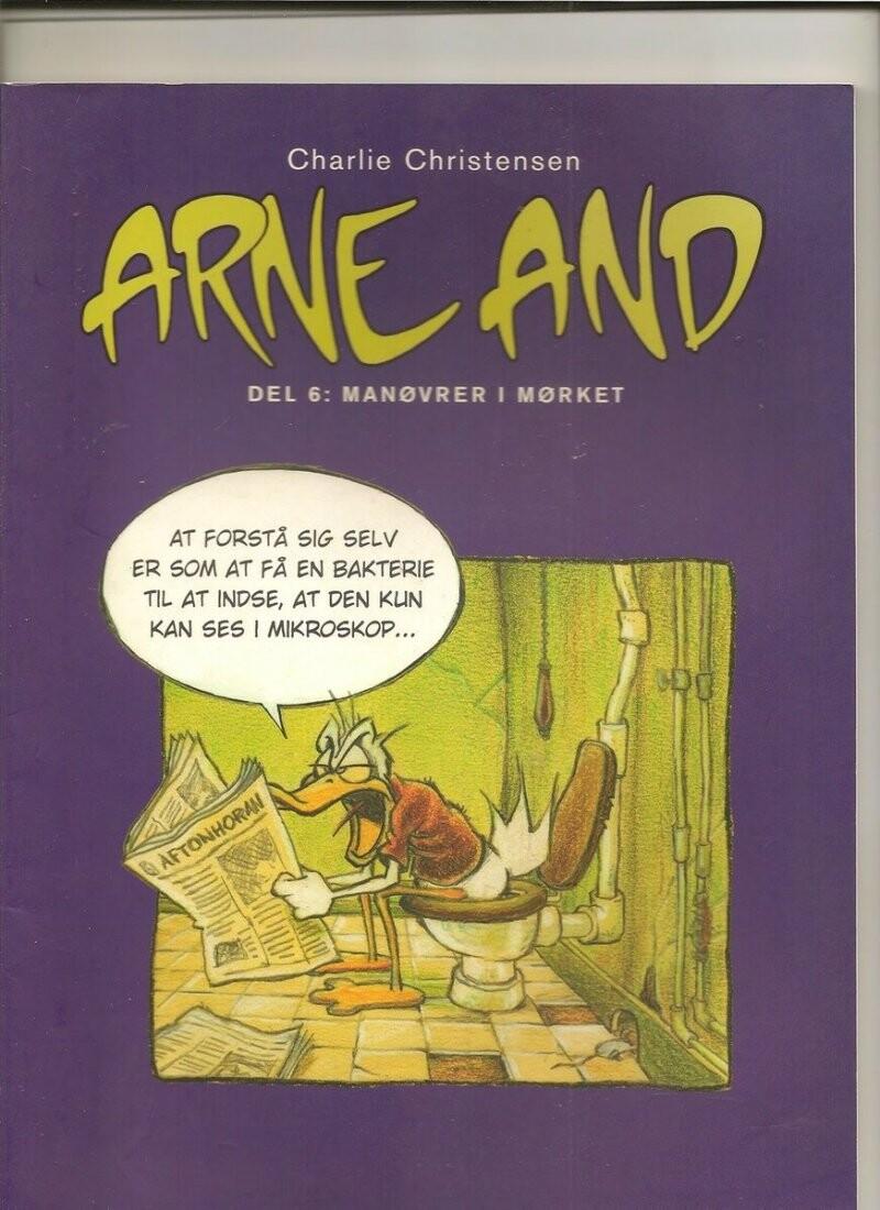 Image of   Arne And Manøvrer I Mørket - Charlie Christensen - Tegneserie