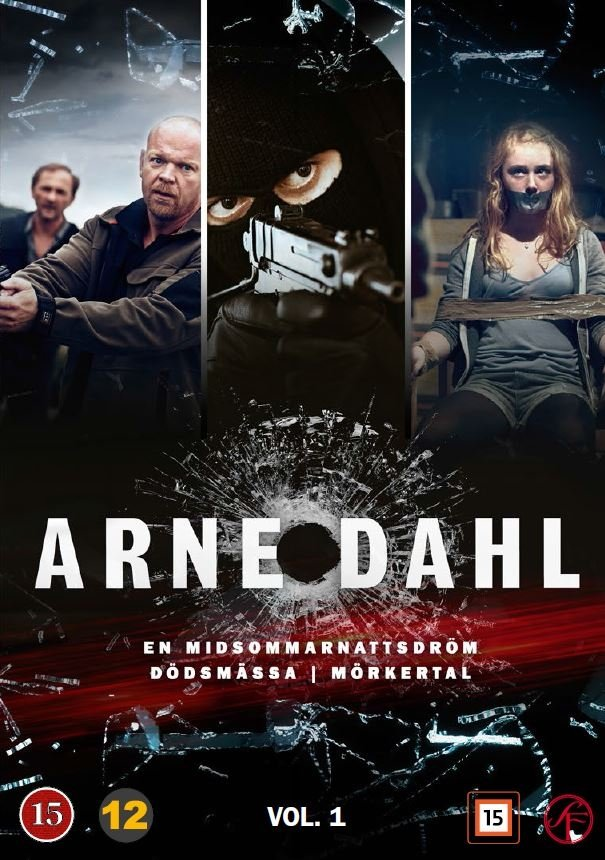 Image of   Arne Dahl Boks - Vol. 1 - DVD - Tv-serie