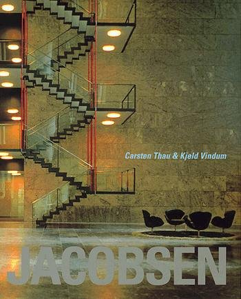 Image of   Arne Jacobsen - Engelsk Udgave - Carsten Thau - Bog