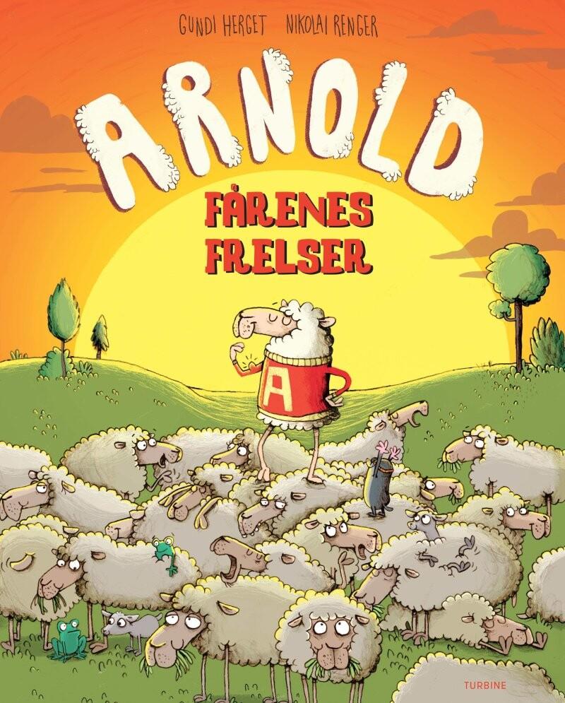 Image of   Arnold - Fårenes Frelser - Gundi Herget - Bog