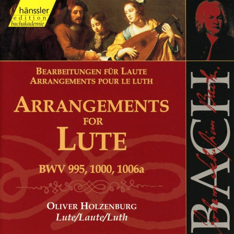 Image of   J. S. Bach - Arrangements For Lute - CD