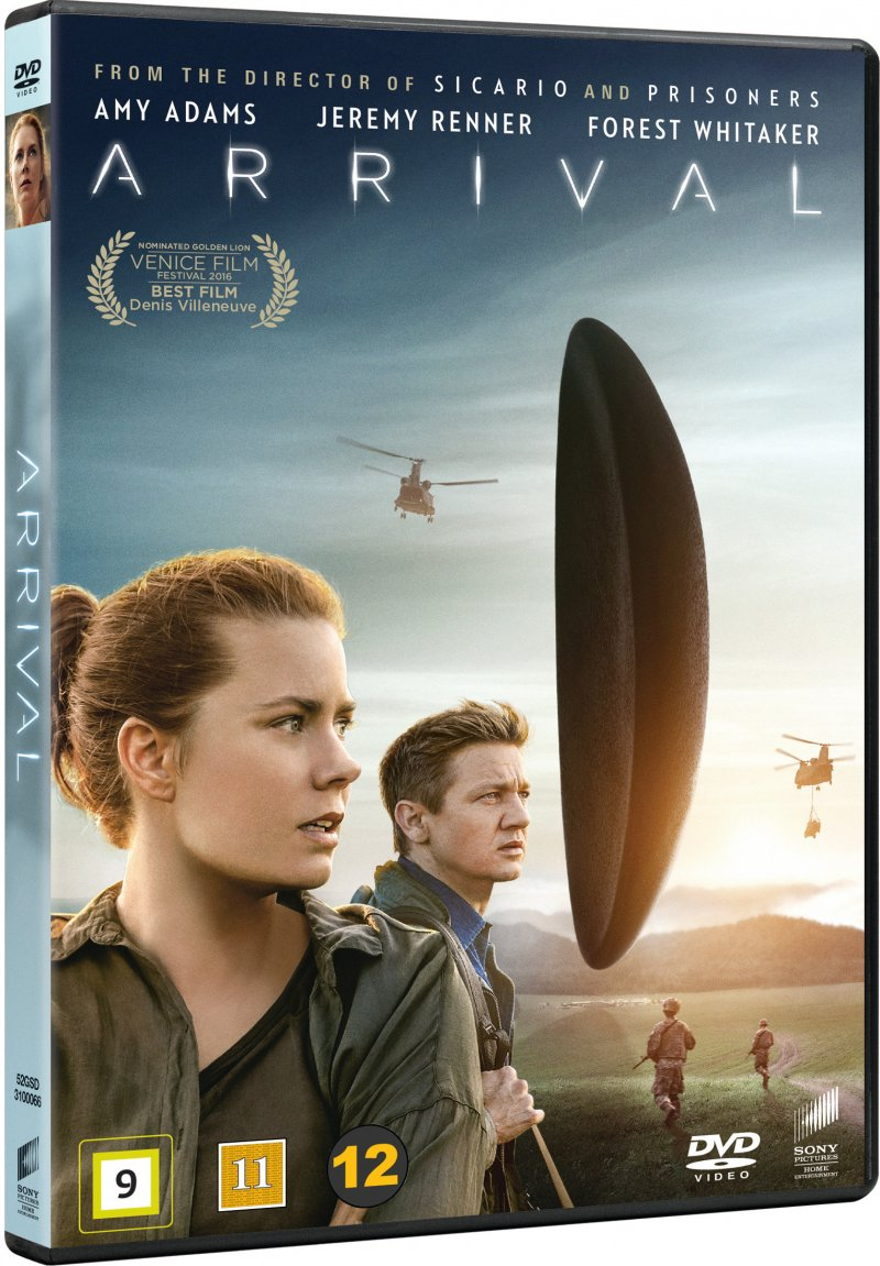 Image of   Arrival - 2016 - DVD - Film