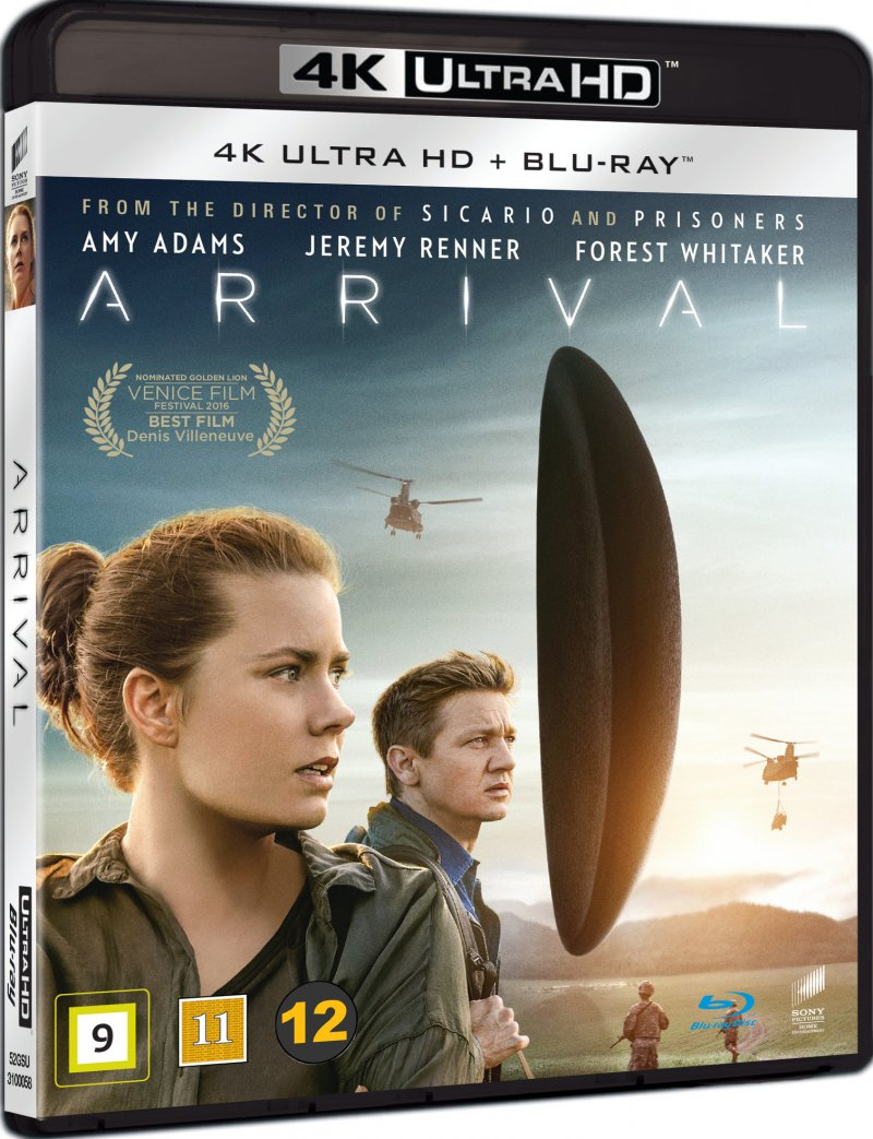 Image of   Arrival - 2016 - 4K Blu-Ray