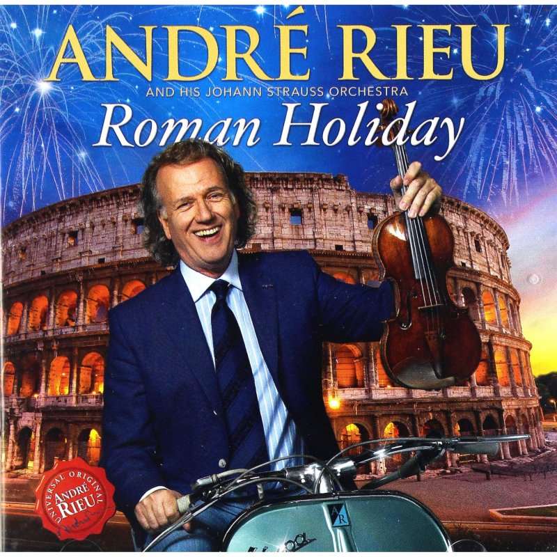 Image of   Andre Rieu - Arrivedeci Roma - CD