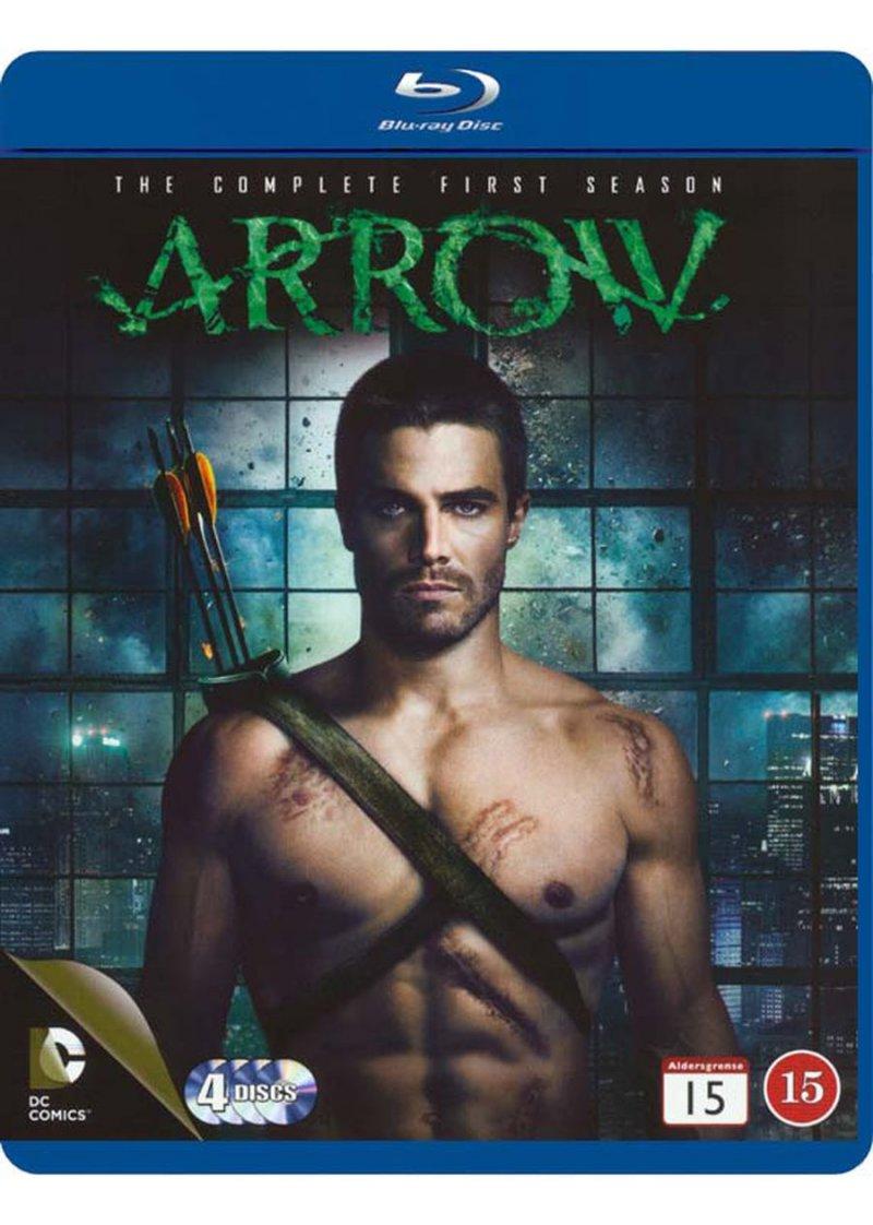 Arrow - Sæson 1 - Blu-Ray - Tv-serie