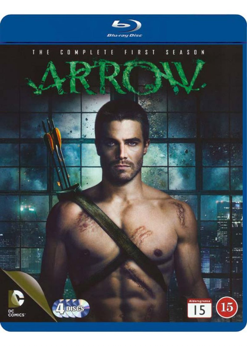 Image of   Arrow - Sæson 1 - Blu-Ray - Tv-serie