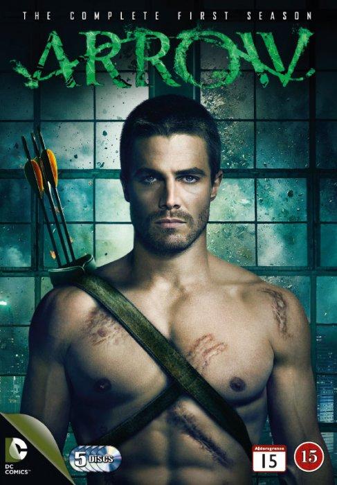Image of   Arrow - Sæson 1 - DVD - Tv-serie