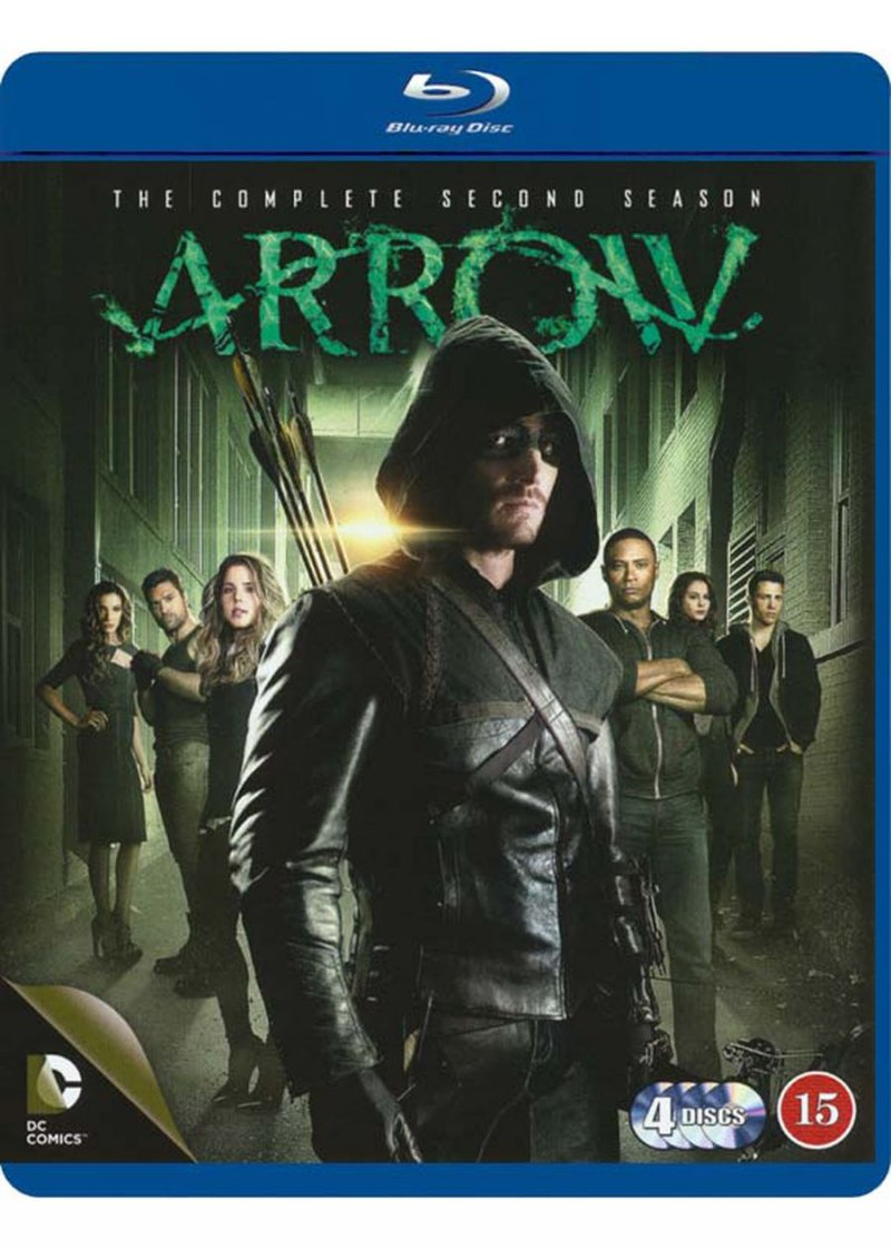 Image of   Arrow - Sæson 2 - Blu-Ray - Tv-serie
