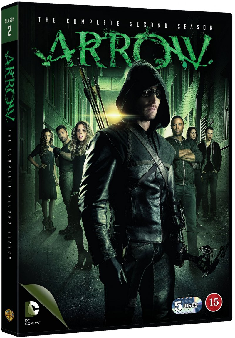 Image of   Arrow - Sæson 2 - DVD - Tv-serie