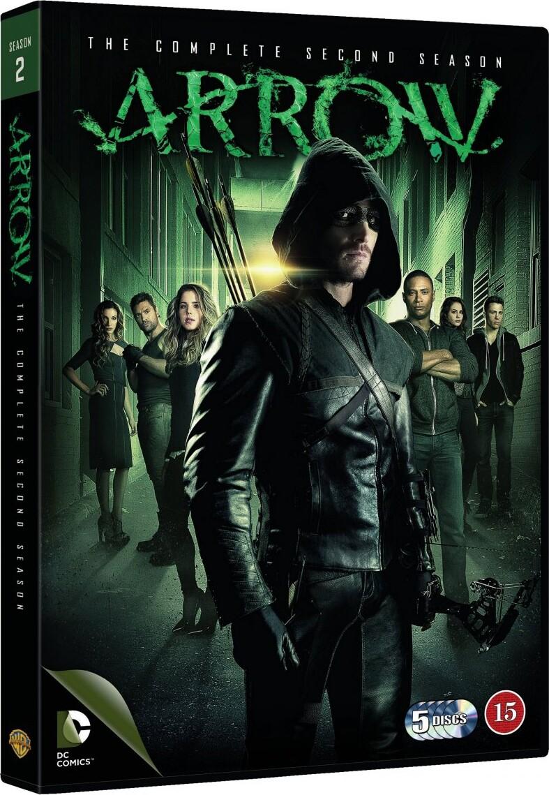 Image of   Arrow - Sæson 2 - DVD - Tv-serie