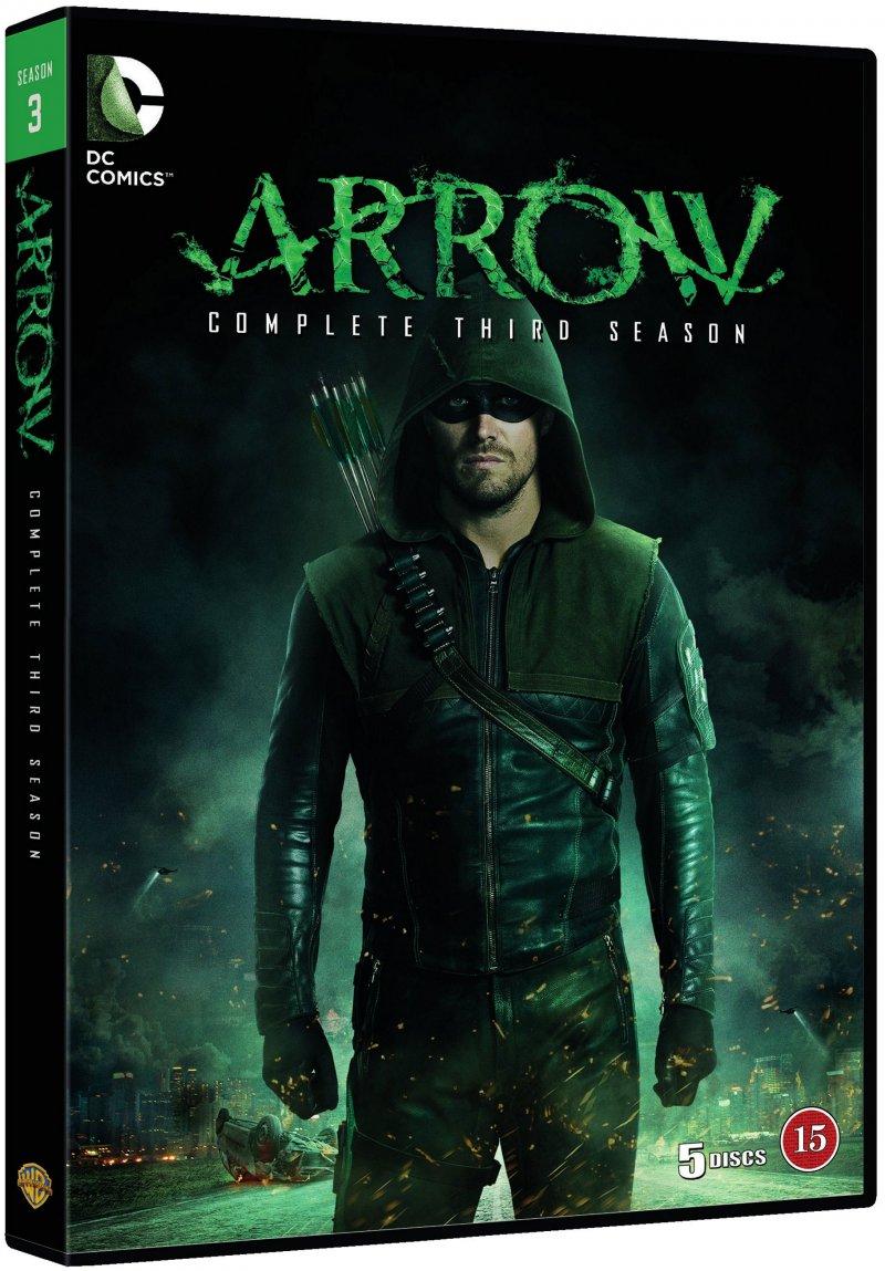 Image of   Arrow - Sæson 3 - DVD - Tv-serie