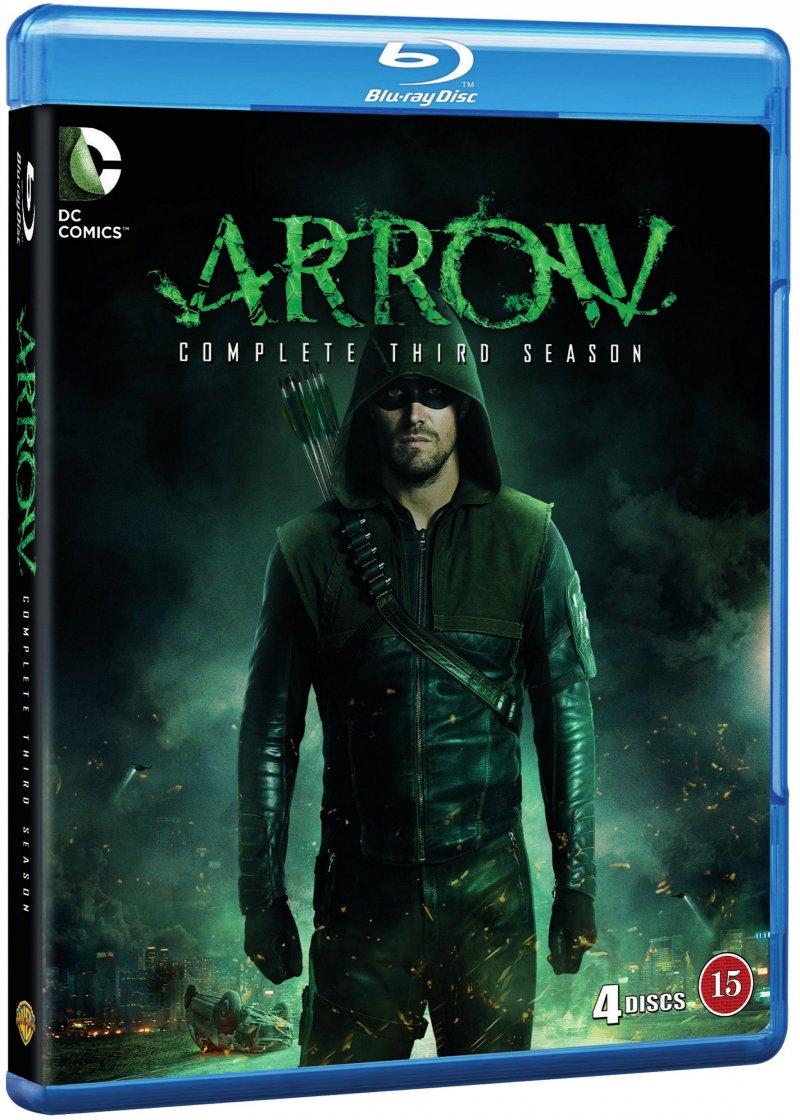 Arrow - Sæson 3 - Blu-Ray - Tv-serie