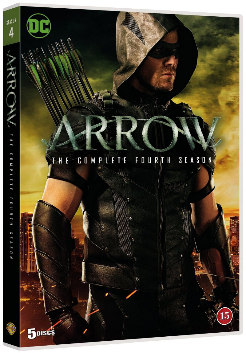 Image of   Arrow - Sæson 4 - DVD - Tv-serie