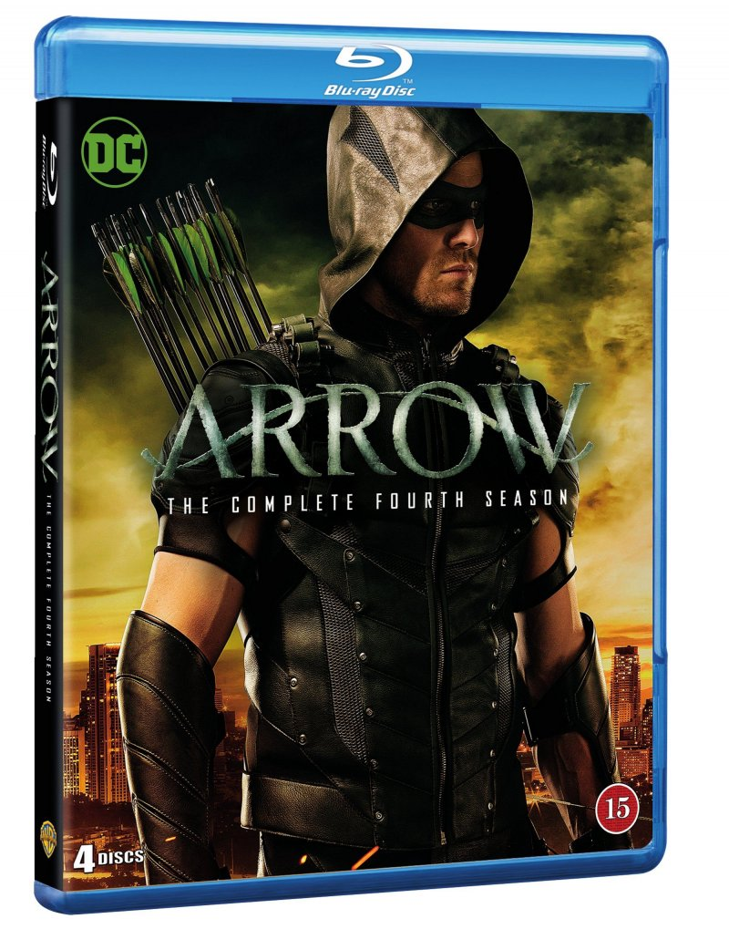 Image of   Arrow - Sæson 4 - Blu-Ray - Tv-serie