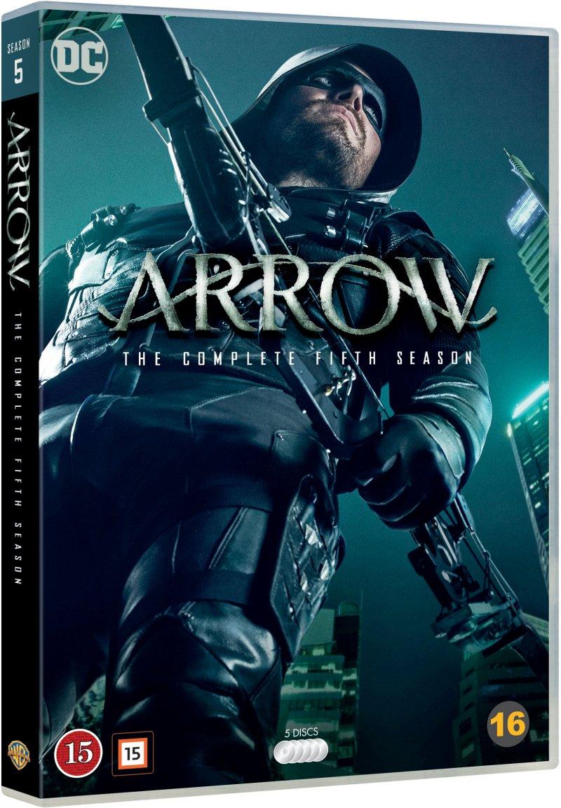 Image of   Arrow - Sæson 5 - DVD - Tv-serie