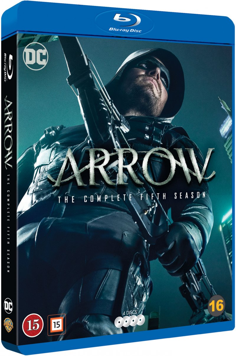 Image of   Arrow - Sæson 5 - Blu-Ray - Tv-serie