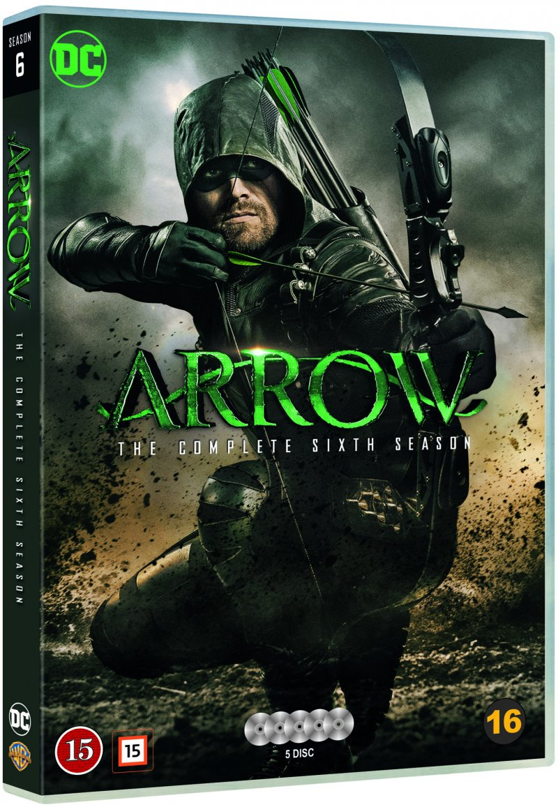 Image of   Arrow - Sæson 6 - DVD - Tv-serie