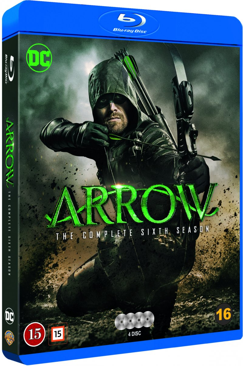 Image of   Arrow - Sæson 6 - Blu-Ray - Tv-serie