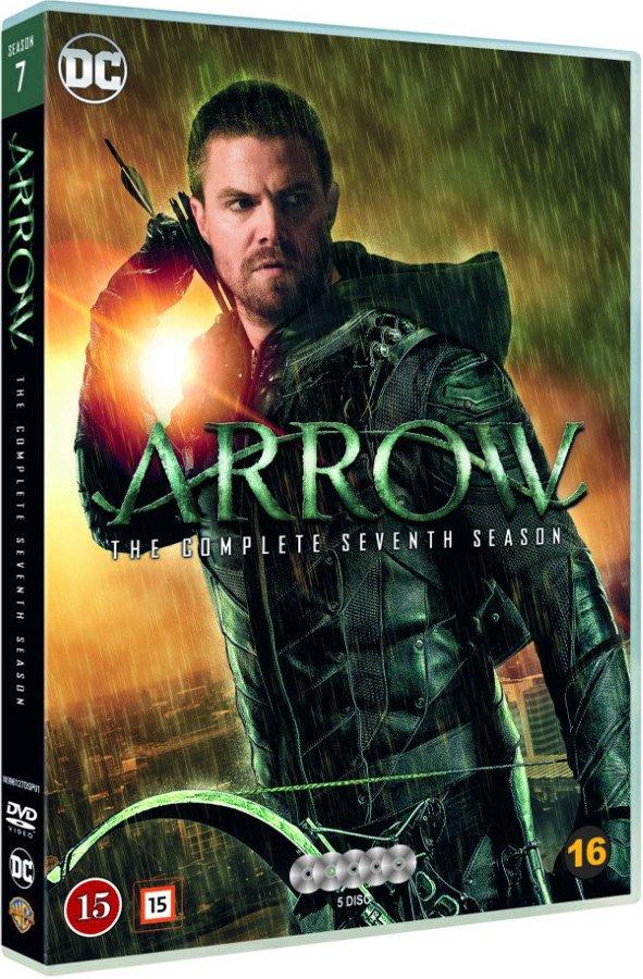 Image of   Arrow - Sæson 7 - DVD - Tv-serie