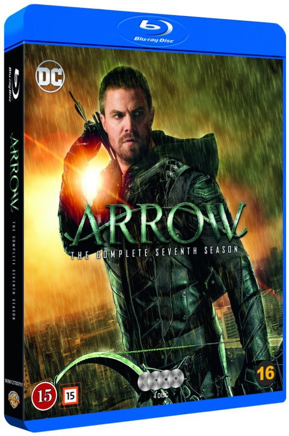 Image of   Arrow - Sæson 7 - Blu-Ray - Tv-serie