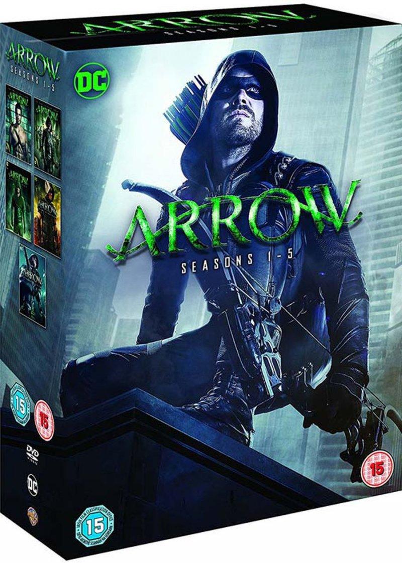 Billede af Arrow - Sæson 1-5 - DVD - Tv-serie
