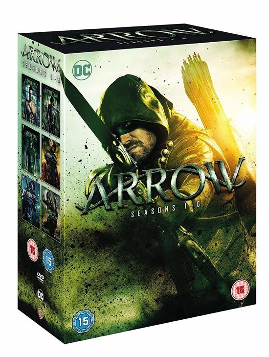 Image of   Arrow - Sæson 1-6 - DVD - Tv-serie