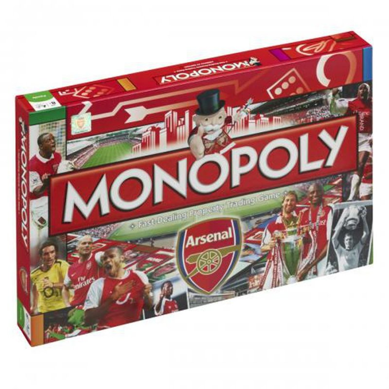 Image of   Arsenal Monopoly Spil