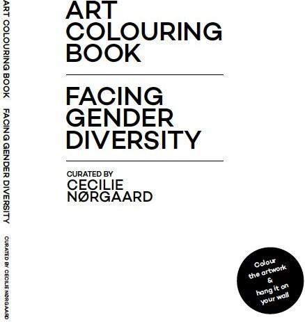 Image of   Art Colouring Book - Cecilie Nørgaard - Bog