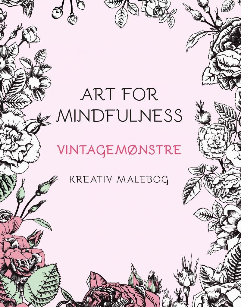 Image of   Art For Mindfulness Vintagemønstre - Andrew Paciorek - Bog