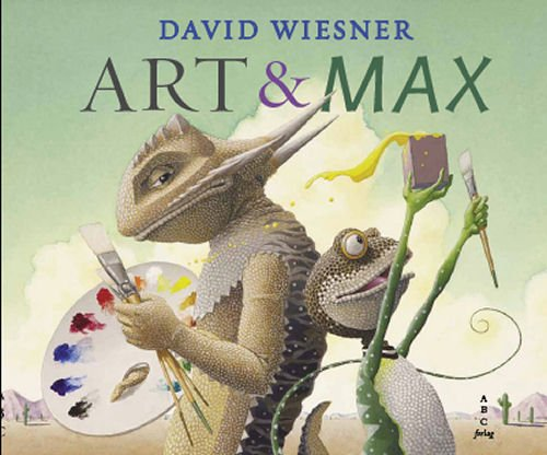 Image of   Art & Max - David Wiesner - Bog