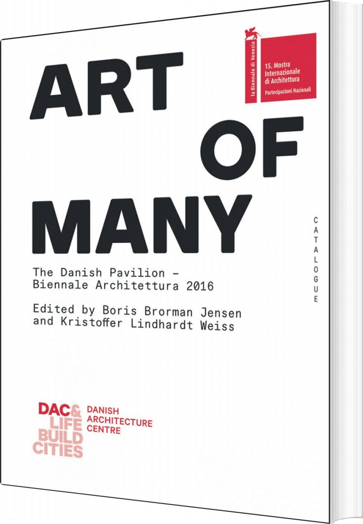Image of   Art Of Many - Boris Brorman Jensen - Bog