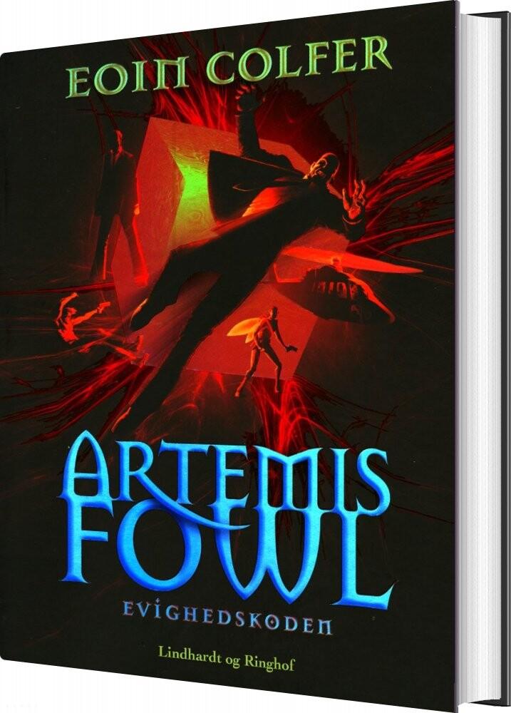 Image of   Artemis Fowl 3 - Artemis Fowl Og Evighedskoden - Eoin Colfer - Bog