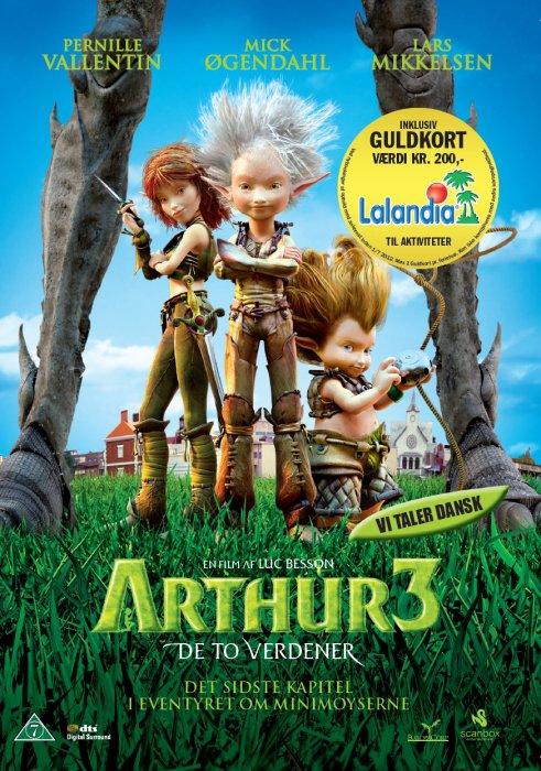 Image of   Arthur 3 - De To Verdener - DVD - Film