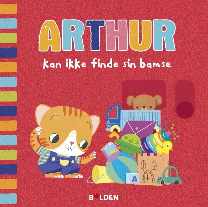 Arthur Kan Ikke Finde Sin Bamse - Diverse - Bog
