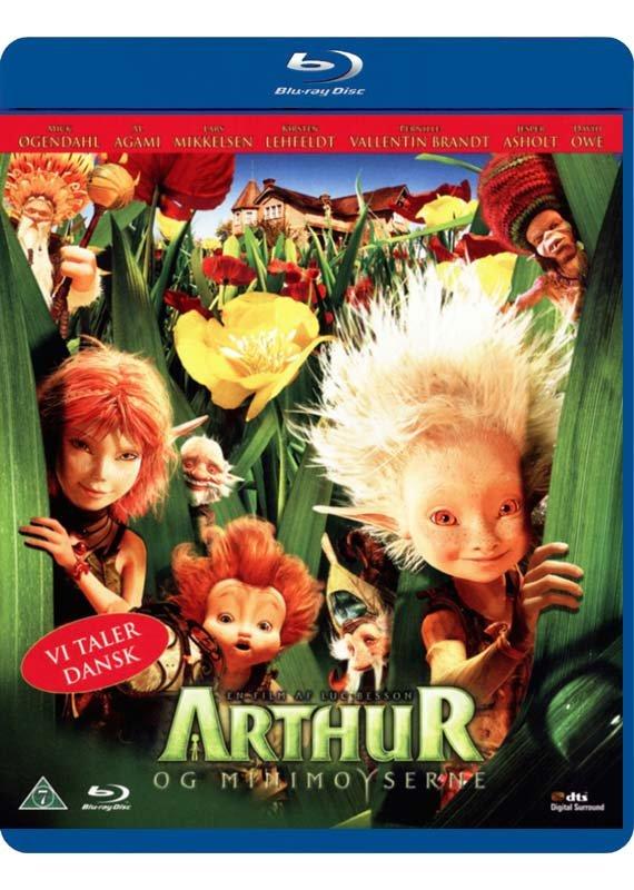 Image of   Arthur Og Minimoyserne - Blu-Ray