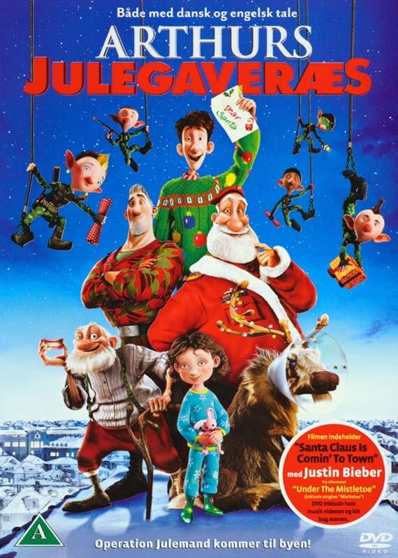 Image of   Arthurs Julegaveræs / Arthurs Christmas - DVD - Film