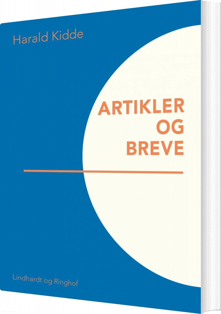 Image of   Artikler Og Breve - Harald Kidde - Bog