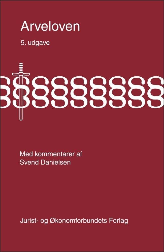 Image of   Arveloven - Svend Danielsen - Bog