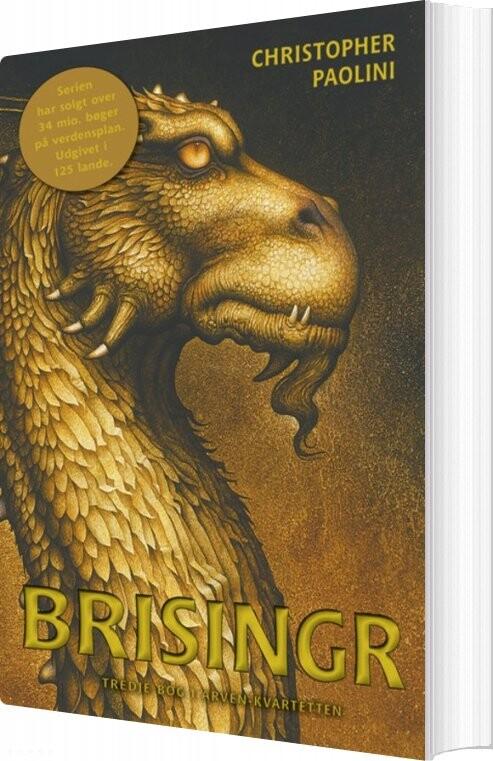 Billede af Arven 3: Brisingr - Christopher Paolini - Bog