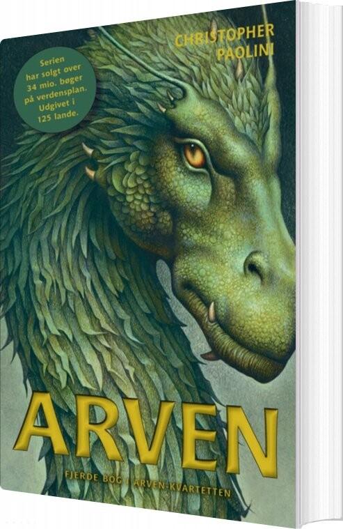 Image of   Arven 4 - Arven - Christopher Paolini - Bog