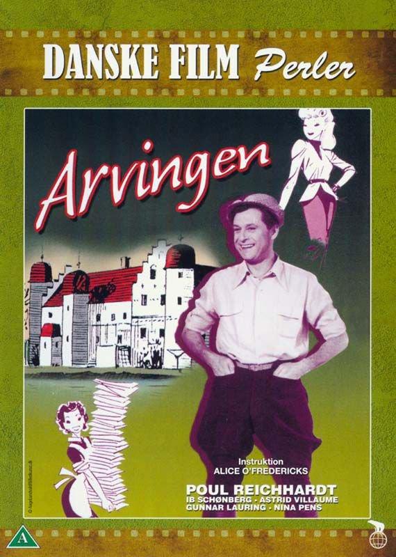 Image of   Arvingen - 1954 - DVD - Film